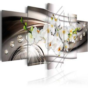 Tableau -  Orchid with Diamonds fait partie des tableaux murales de la collection de worldofwomen découvrez ce magnifique tableau exclusif chez nous