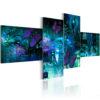 Tableau - Papillons en turquoise fait partie des tableaux murales de la collection de worldofwomen découvrez ce magnifique tableau exclusif chez nous