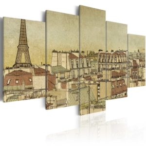Tableau - Paris au Siècle Dernier fait partie des tableaux murales de la collection de worldofwomen découvrez ce magnifique tableau exclusif chez nous