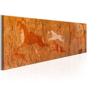 Tableau - Peintures rupestres fait partie des tableaux murales de la collection de worldofwomen découvrez ce magnifique tableau exclusif chez nous