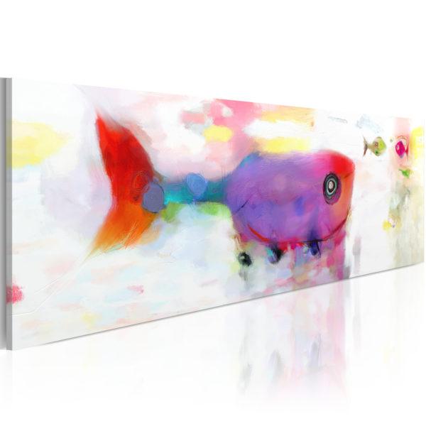 Tableau -  Poissons dans la mer profonde fait partie des tableaux murales de la collection de worldofwomen découvrez ce magnifique tableau exclusif chez nous