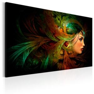 Tableau - Reine de la forêt fait partie des tableaux murales de la collection de worldofwomen découvrez ce magnifique tableau exclusif chez nous