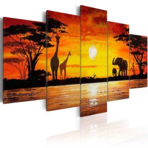 Tableau - Safari chaud fait partie des tableaux murales de la collection de worldofwomen découvrez ce magnifique tableau exclusif chez nous