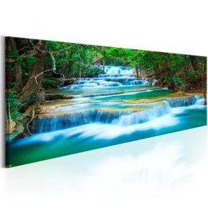 Tableau - Sapphire Waterfalls fait partie des tableaux murales de la collection de worldofwomen découvrez ce magnifique tableau exclusif chez nous