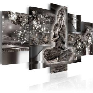 Tableau - Silver Serenity fait partie des tableaux murales de la collection de worldofwomen découvrez ce magnifique tableau exclusif chez nous
