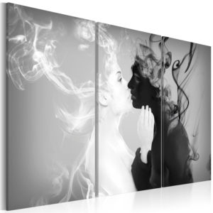 Tableau - Smoky kiss fait partie des tableaux murales de la collection de worldofwomen découvrez ce magnifique tableau exclusif chez nous