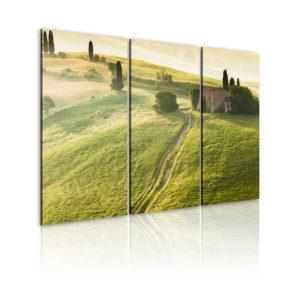 Tableau - Soleil au-dessus de la Toscane fait partie des tableaux murales de la collection de worldofwomen découvrez ce magnifique tableau exclusif chez nous