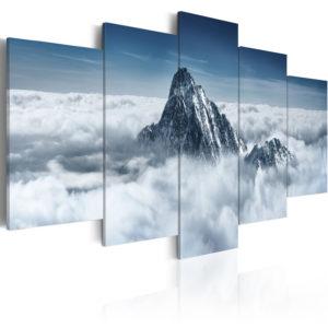 Tableau - Sommet de la montagne au-dessus des nuages fait partie des tableaux murales de la collection de worldofwomen découvrez ce magnifique tableau exclusif chez nous
