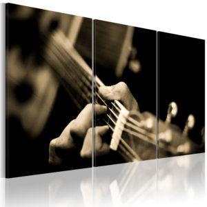 Tableau - Son magique de la guitarre fait partie des tableaux murales de la collection de worldofwomen découvrez ce magnifique tableau exclusif chez nous