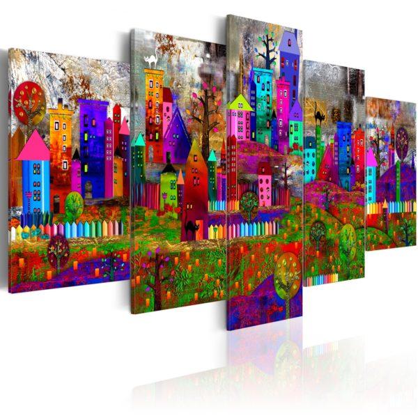 Tableau - The City of Expression fait partie des tableaux murales de la collection de worldofwomen découvrez ce magnifique tableau exclusif chez nous