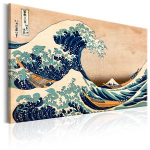 Tableau - The Great Wave off Kanagawa (Reproduction) fait partie des tableaux murales de la collection de worldofwomen découvrez ce magnifique tableau exclusif chez nous