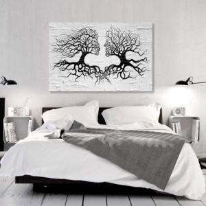 Tableaux > Abstraction > Amour ce catalogue des tableaux déco pour tout types de murs et prêt à poser