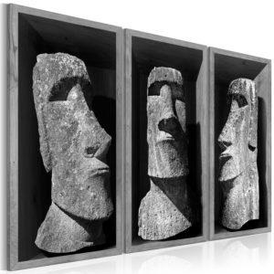 Tableau - The Mystery of Easter Island fait partie des tableaux murales de la collection de worldofwomen découvrez ce magnifique tableau exclusif chez nous