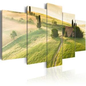 Tableau - Toscane verte fait partie des tableaux murales de la collection de worldofwomen découvrez ce magnifique tableau exclusif chez nous