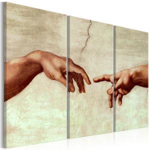 Tableau - Touch of God fait partie des tableaux murales de la collection de worldofwomen découvrez ce magnifique tableau exclusif chez nous
