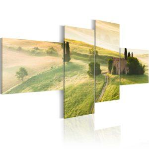 Tableau - Tranquilité en Toscane fait partie des tableaux murales de la collection de worldofwomen découvrez ce magnifique tableau exclusif chez nous