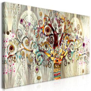 Tableau - Tree of Life (1 Part) Narrow fait partie des tableaux murales de la collection de worldofwomen découvrez ce magnifique tableau exclusif chez nous