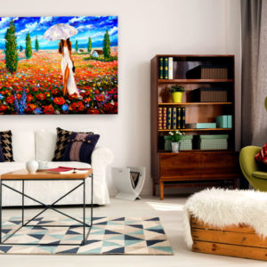 Tableaux > Personnages > Femme ce catalogue des tableaux déco pour tout types de murs et prêt à poser