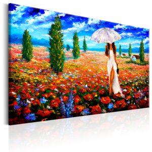 Tableau - Woman with Umbrella fait partie des tableaux murales de la collection de worldofwomen découvrez ce magnifique tableau exclusif chez nous