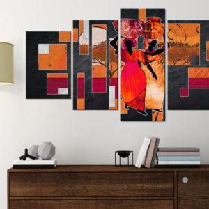 Tableaux > Tableau africain et ethnique > Personnages ce catalogue des tableaux déco pour tout types de murs et prêt à poser