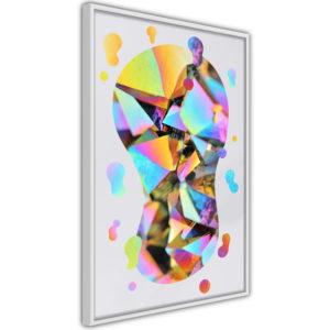 Apportez une nouvelle douche déco avec le Poster et affiche - Abstract Light Bulb