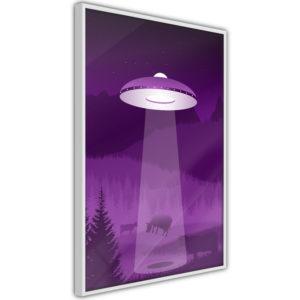 Apportez une nouvelle douche déco avec le Poster et affiche - Flying Saucer