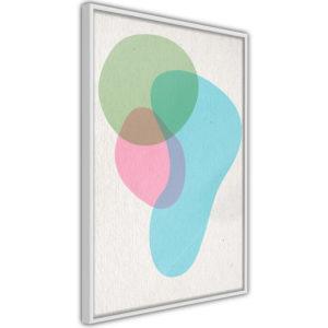 Apportez une nouvelle douche déco avec le Poster et affiche - Pastel Sets III