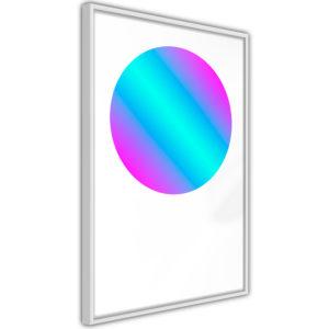Apportez une nouvelle douche déco avec le Poster et affiche - Ultraviolet I